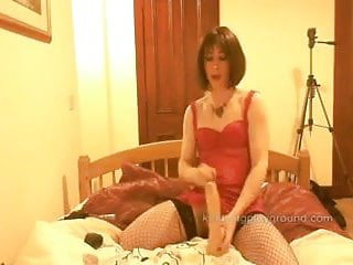 Tranny Battle-axe Pumps Blarney Chubby Be Fitting Of Lickerish Wank Increased By Dildo Anal